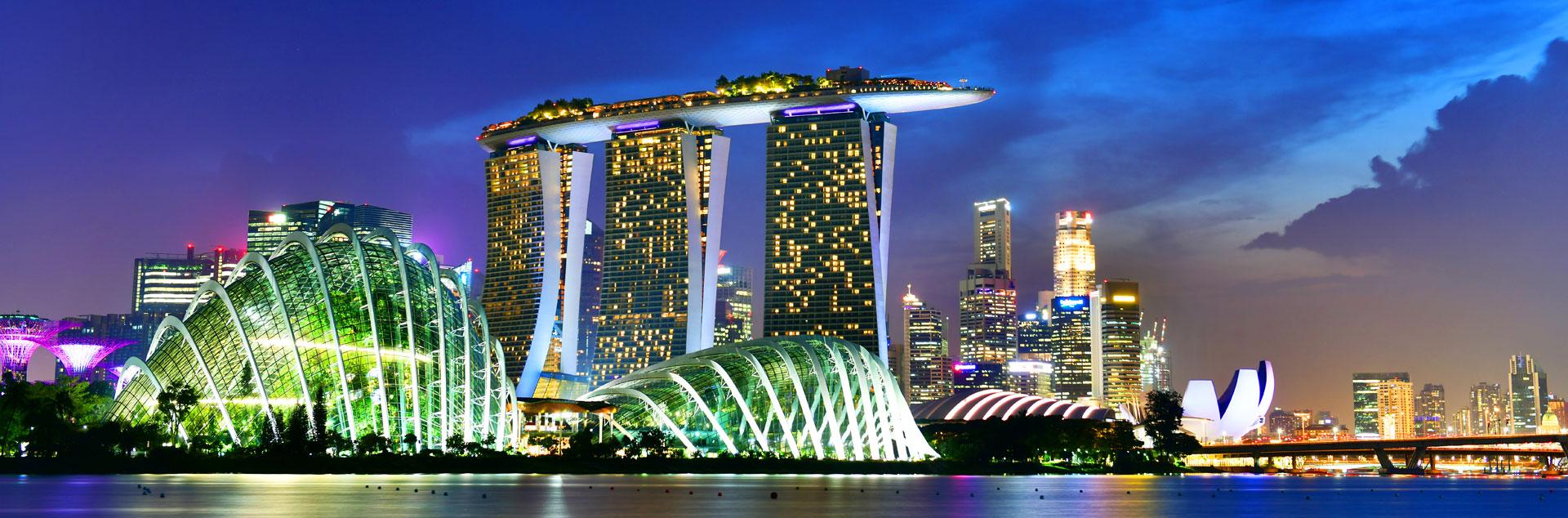 L'Asie et plus particulièrement Singapour a connu un important développement ces dernières années attirant de nombreux investisseurs étrangers.