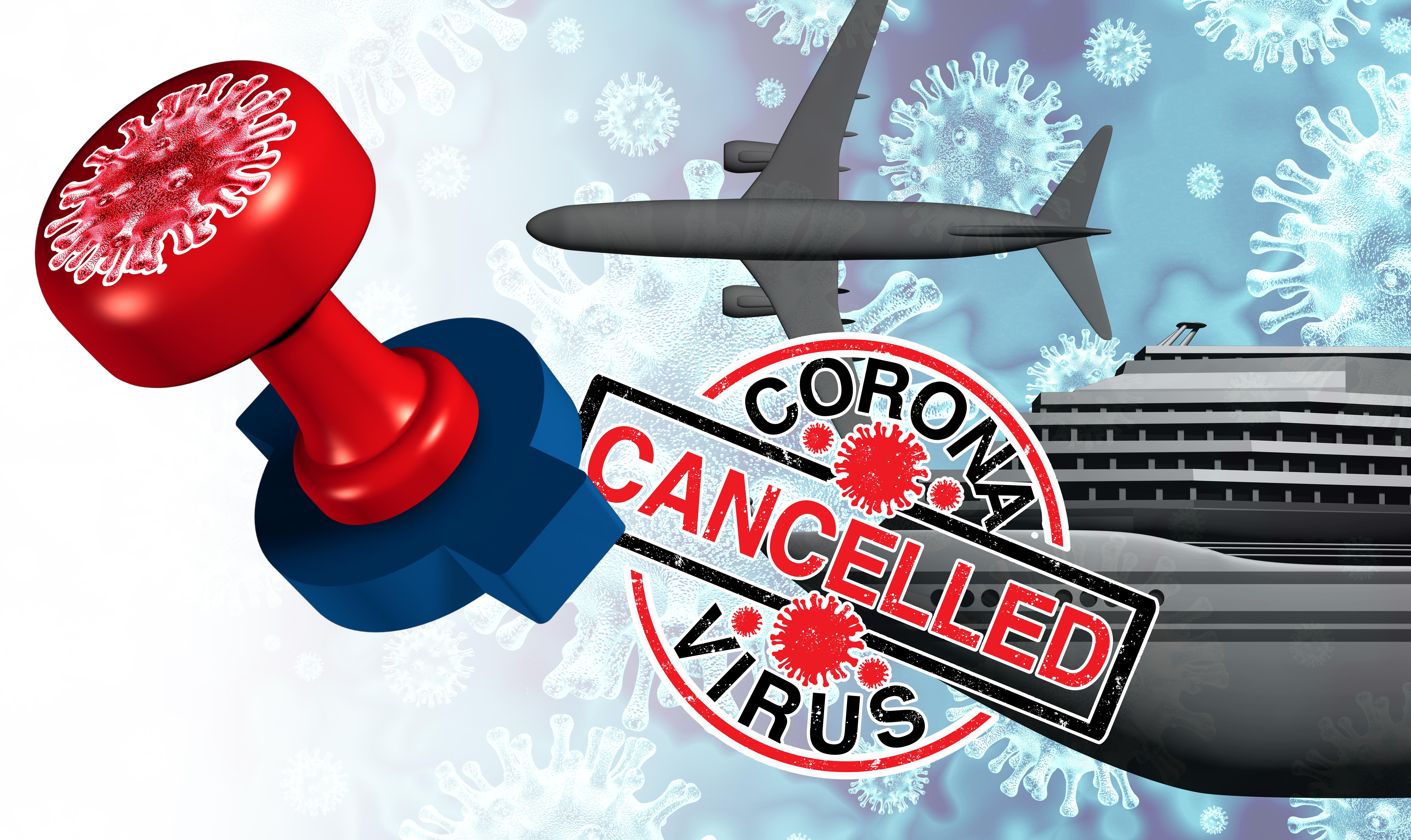 Coronavirus (Covid-19) et annulation de vacances