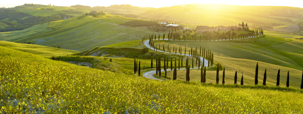 Déménagez en Italie et offrez vous un domaine en Toscane grâce à une fiscalité attractive.